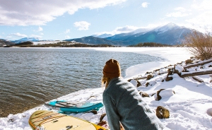 Why to go stand up paddle boarding in winter