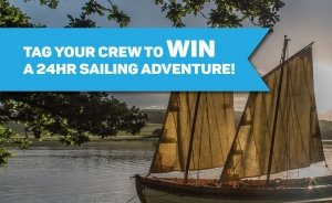 Win: A 24 hour Sailing Experience for 8 people!
